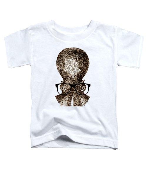 Octopus Head Toddler T-Shirt