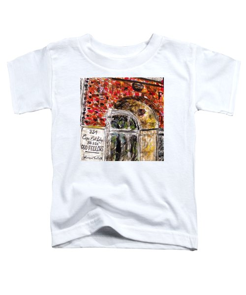 Odd Fellows, Cape Cod Toddler T-Shirt