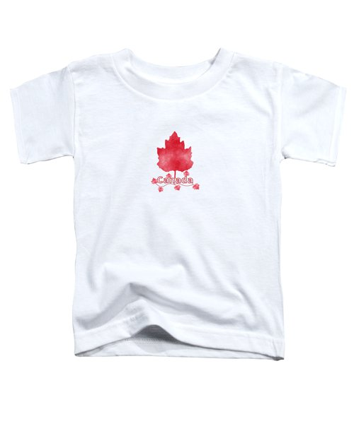 Oh Canada Toddler T-Shirt