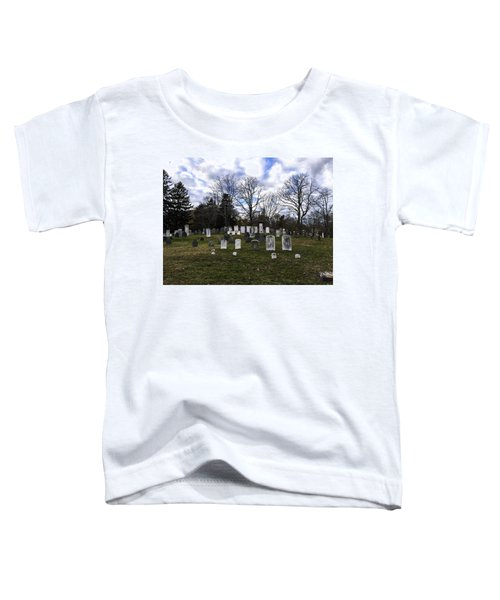 Old Town Cemetery Sandwich, Massachusetts Toddler T-Shirt