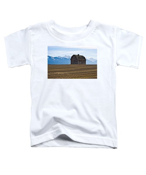 Old Barn, Mission Mountains 2 Toddler T-Shirt