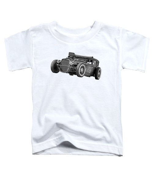 Old Blue Eyes In Black And White Toddler T-Shirt