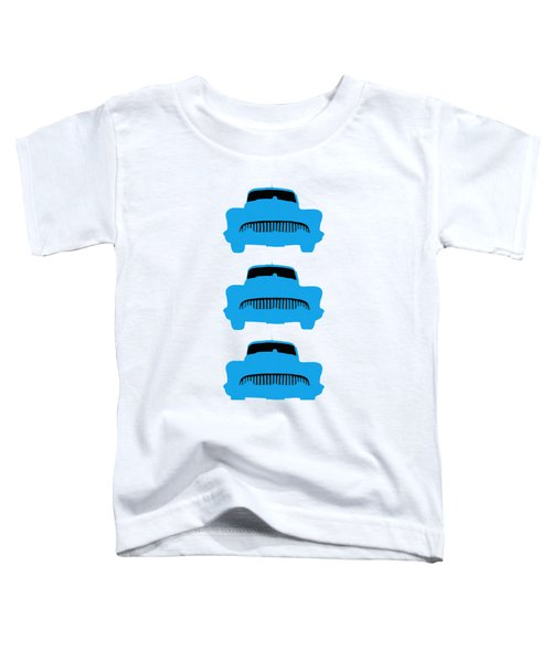 Old Buicks Blue Times Three Toddler T-Shirt