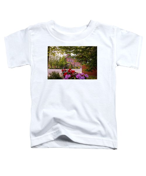 Old Fire Station Easthampton, Ma Toddler T-Shirt