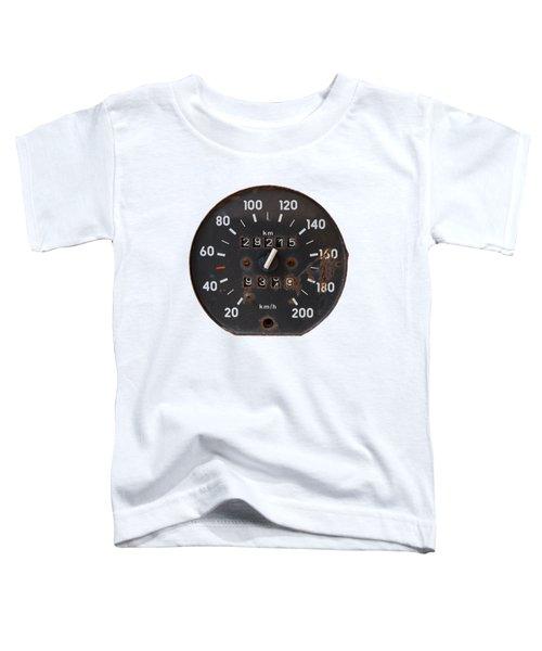 Old Tachometer Toddler T-Shirt