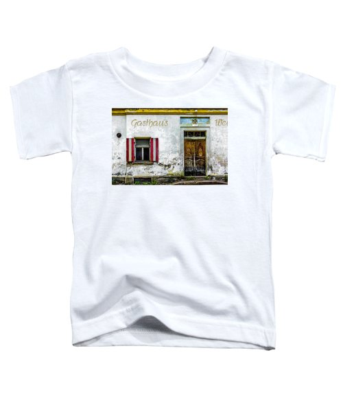 Old Traditional Austrian Tavern Toddler T-Shirt
