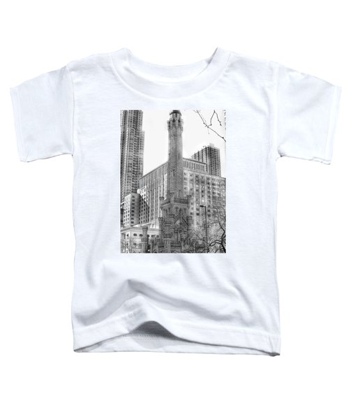 Old Water Tower - Chicago Toddler T-Shirt