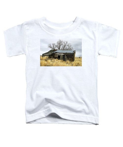 Old Wyoming Farmhouse Toddler T-Shirt