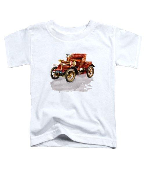 Oldtimer Car Watercolor Toddler T-Shirt