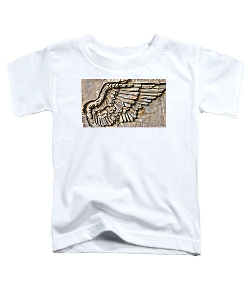 On Angels Wings Toddler T-Shirt