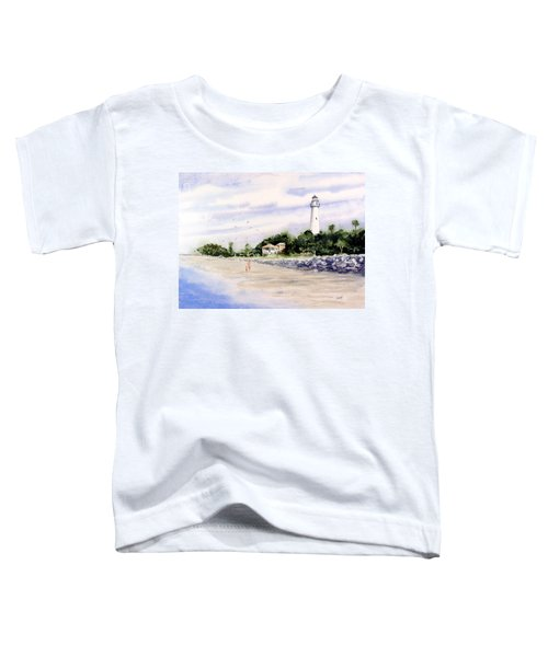 On The Beach At St. Simon's Island Toddler T-Shirt