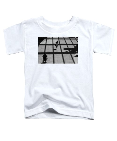 Toddler T-Shirt featuring the photograph On The Grid by Eric Lake