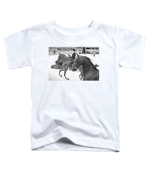 On The Outside Charcoal Toddler T-Shirt