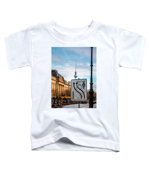 On The Road In Berlin Toddler T-Shirt