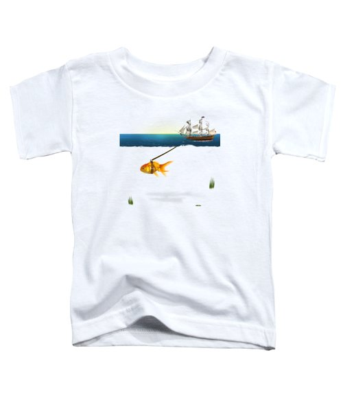 On The Way  Toddler T-Shirt by Mark Ashkenazi