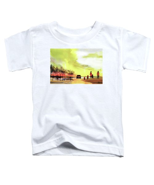 On Vacation Toddler T-Shirt