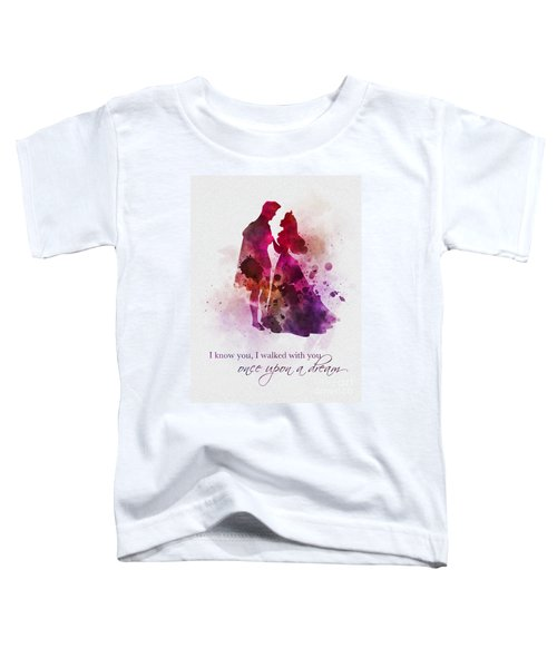Once Upon A Dream Toddler T-Shirt