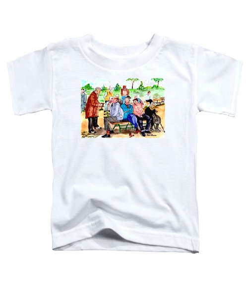Once Upon A Park Bench Toddler T-Shirt