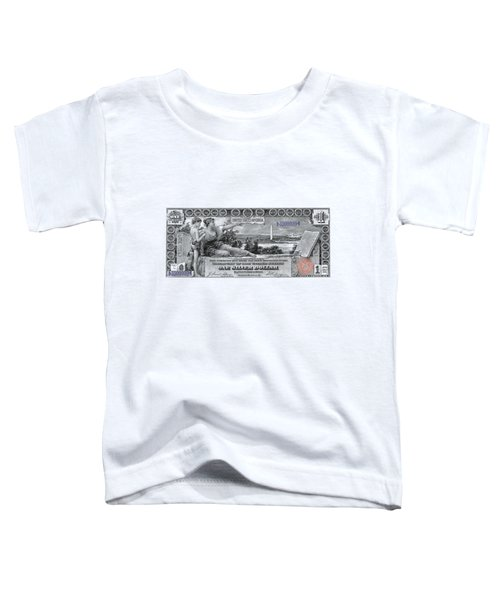 One Dollar Note - 1896 Educational Series  Toddler T-Shirt
