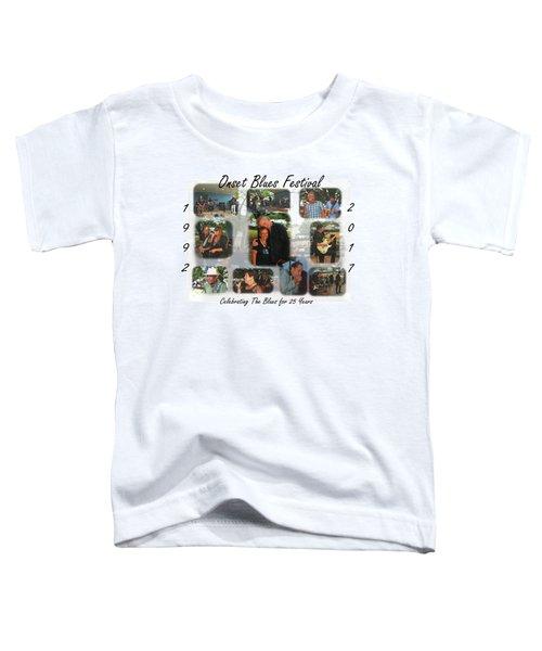 Onset Celebrates 25 Years Of Blues Toddler T-Shirt