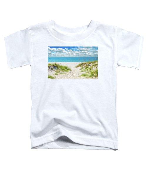 Orange Beach Al Seascape 1086a Toddler T-Shirt