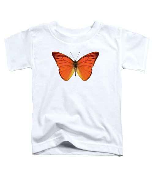 Orange Butterfly Species Appias Nero Neronis  Toddler T-Shirt