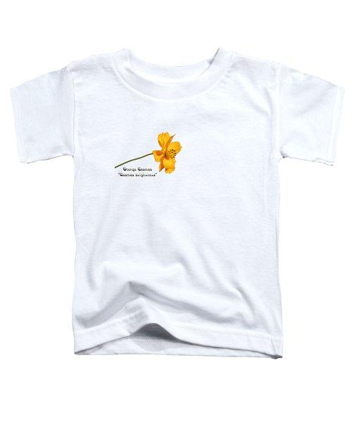 Orange Cosmos Isolated 2018-1 Toddler T-Shirt
