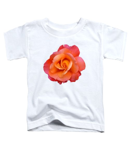 Orange Rosebud Highlight Toddler T-Shirt