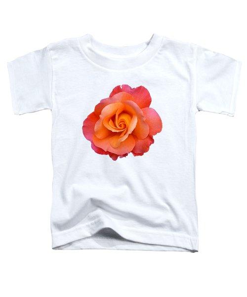 Orange Rosebud Highlight Toddler T-Shirt