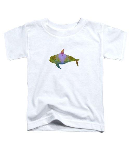 Orca Toddler T-Shirt by Mordax Furittus