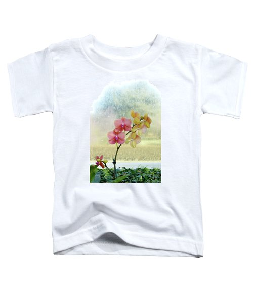 Orchid In Portrait Toddler T-Shirt