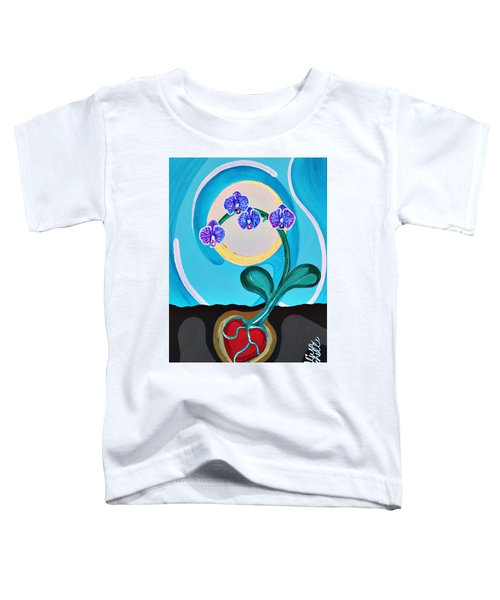 Orchids For My Love Toddler T-Shirt