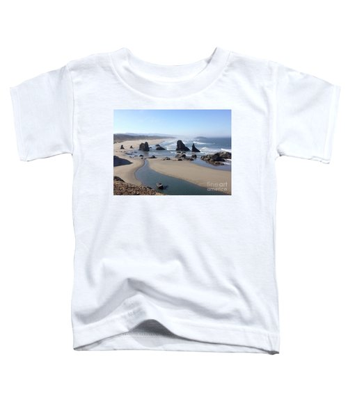 Oregon Coast Sea Stacks Toddler T-Shirt