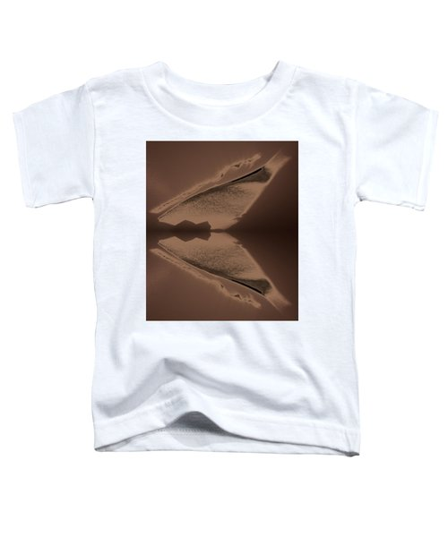Organic Details Near That Strongly-held Dividing Line 2015 Toddler T-Shirt