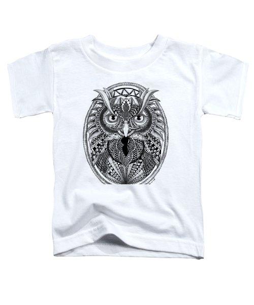 Ornate Owl Toddler T-Shirt
