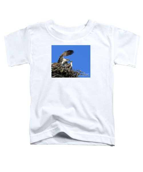 Osprey Chicks Ready To Fledge Toddler T-Shirt