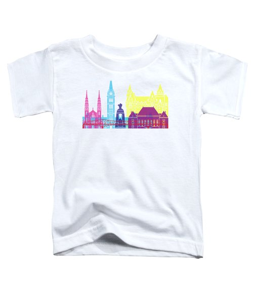 Ottawa V2 Skyline Pop Toddler T-Shirt