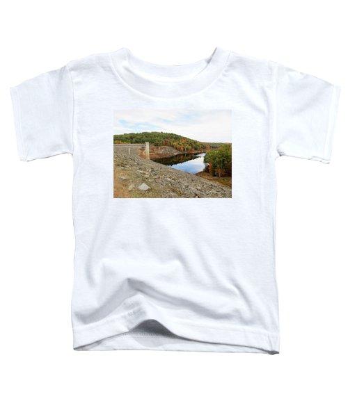 Otter Brook Dam In Autumn Toddler T-Shirt