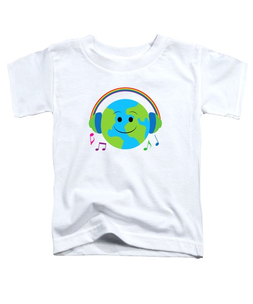 Our Musical World Toddler T-Shirt by A