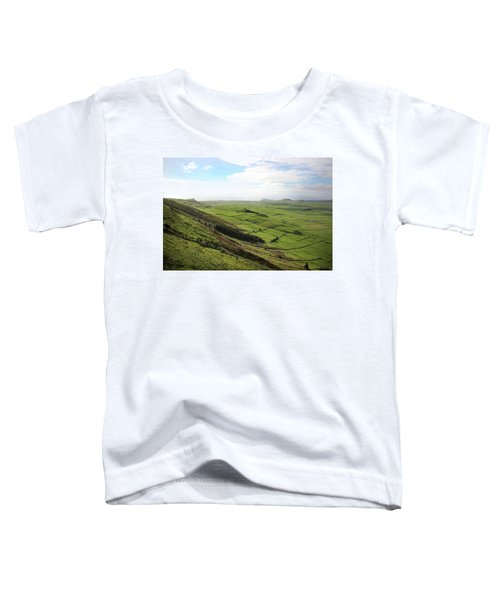 Over The Rim On Terceira Island, The Azores Toddler T-Shirt
