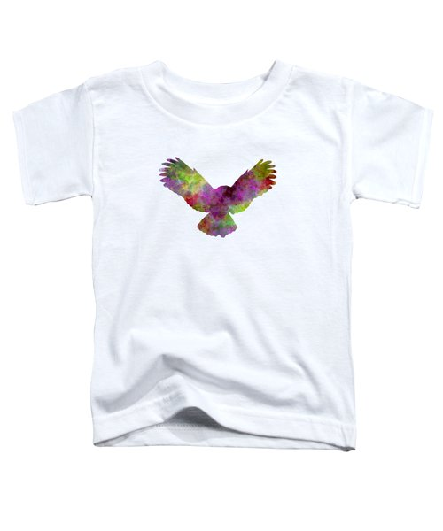 Owl 02 In Watercolor Toddler T-Shirt