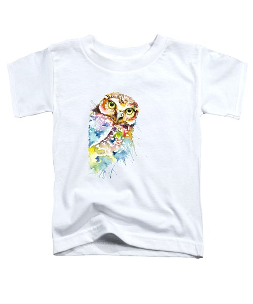 Owl Curious Toddler T-Shirt