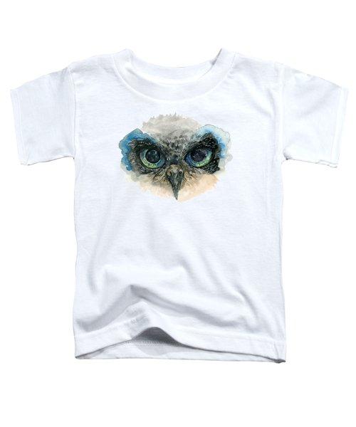 Owl Eyes Toddler T-Shirt