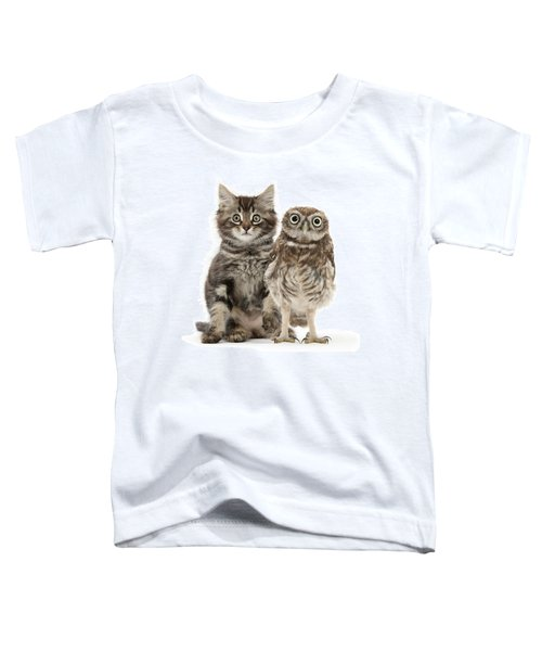Owling And Yowling Toddler T-Shirt