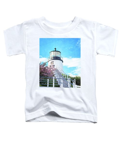 Owl's Head Light In Early June Toddler T-Shirt