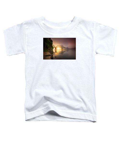 P And Le Ohio River Railroad Bridge Toddler T-Shirt