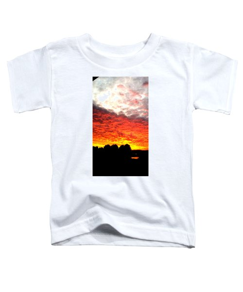 Pacific Coast Skies Toddler T-Shirt