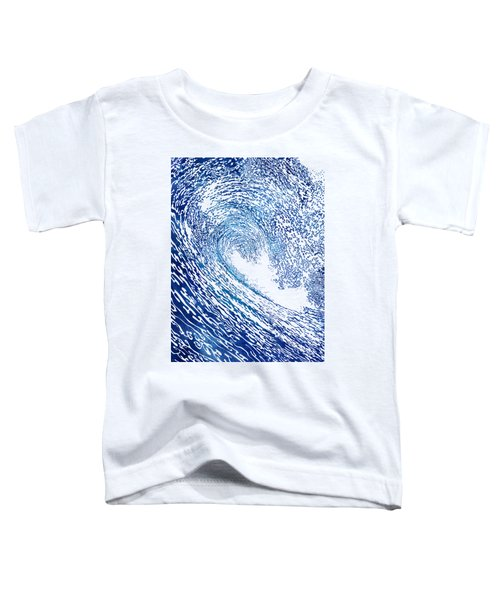 Pacific Waves Iv Toddler T-Shirt