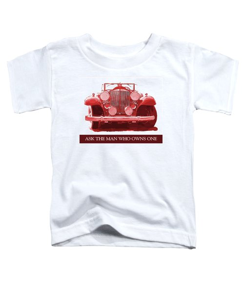 Packard Ask The Man Red Toddler T-Shirt