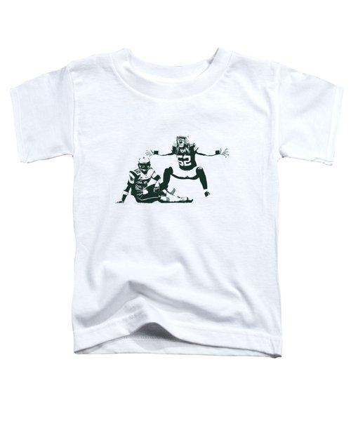 Packers Clay Matthews Sack Toddler T-Shirt